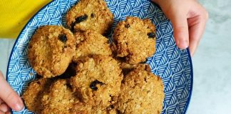 Siomhas covid kitchen friendly oat cookies