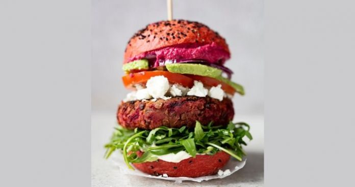 Beetroot and lentil burgers Easy Food