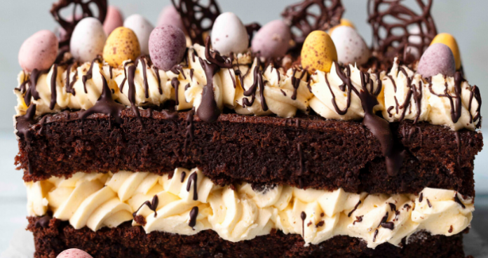 Chocolate easter loaf