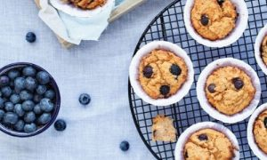 Sweet potato and bluberry muffins_easyfood