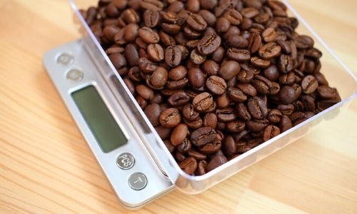 Coffee bean scale_brewing coffee at home_easyfood