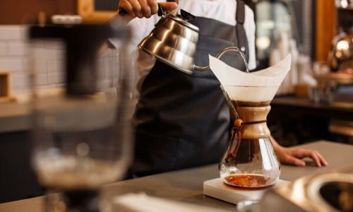 Pour-over/drip with Chemex_easyfood