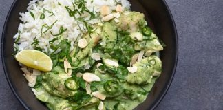 Thai green chicken curry Easy Food