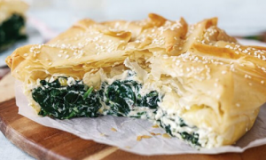 Spinach torte easy food
