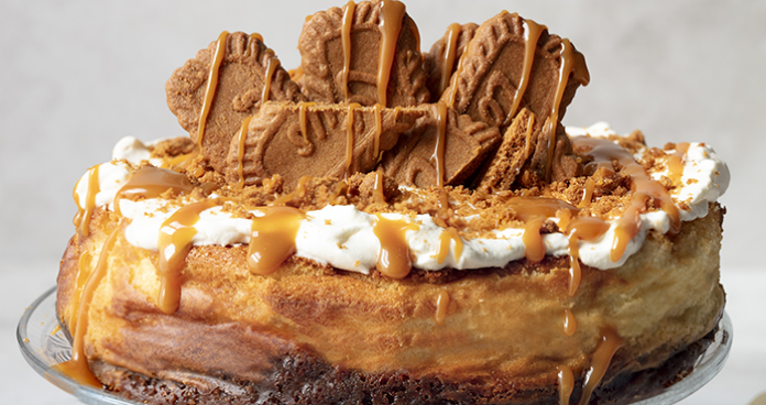 Baked biscoff cheesecake easy food
