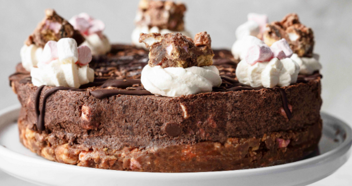 Rocky road cheescake easy food
