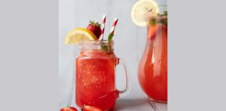Fizzy strawberry lemonade_keelings_easyfood