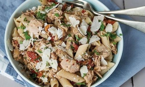 Tuna and sundried tomato pasta_easyfood