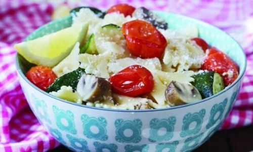 Summer vegetable pasta_easyfood