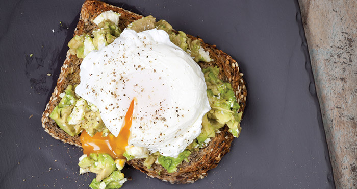 poached eggs easy food