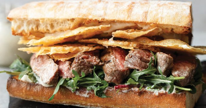 Caesar steak sandwich Easy Food