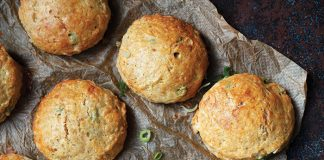 Cheese and Irish stout scones