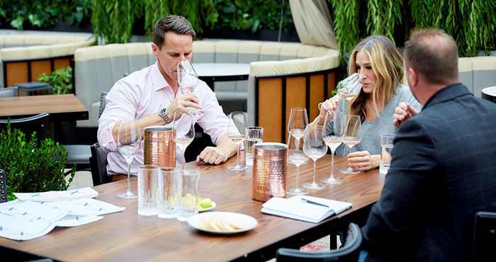 SJP Invivo wines rose Easy Food