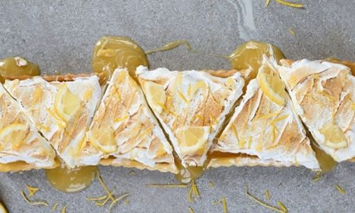 Lemon meringue tart_easyfood