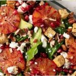 Avocado, blood orange and goat's cheese salad_easyfood_summer