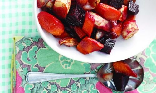 Honeyed root vegetables_fathers day_easyfood