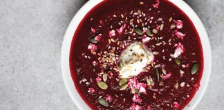 simple beetroot soup