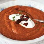 smoky lentil and chorizo soup