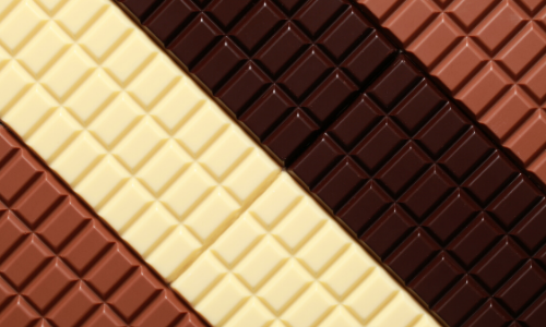 types of chocolate easy food