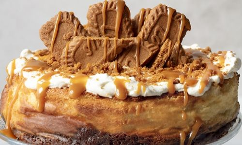 Baked biscoff cheesecake_easyfood_showstopper