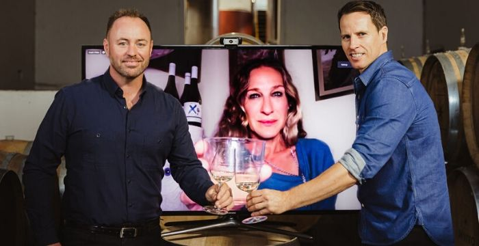 Sarah Jessica Parker and INVIVO & Co releases new wine virtually_SJP_easyfood