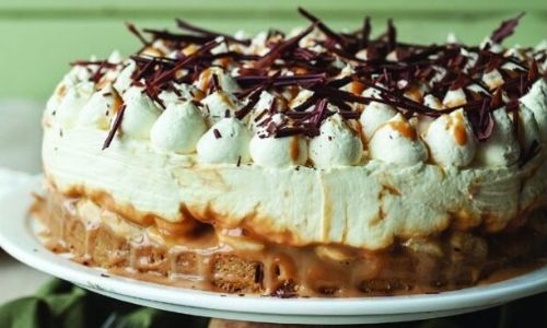 Banoffee cheesecake_easyfood_showstopper cake