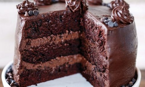 The best chocolate cake ever_easyfood_showstopper