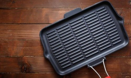 Quality cast-iron skillet_bbq without a bbq_easyfood