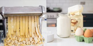 how to make pasta at home