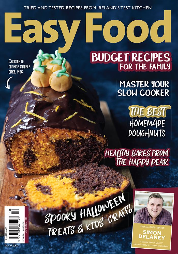 Easy Food October 2020 cover new issue 151