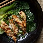 Golden Chicken with Pak Choi Easy Food