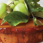 Caramel and apple upside down cake
