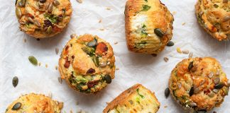 Goats_Cheese_Spinach_Muffins