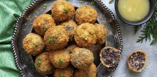 Black pudding croquettes