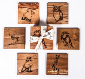 Christmas gift guide_easyfood_The Native Collection Coasters ( Set of 6)