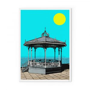 Christmas gift guide-easyfood-Dún Laoghaire bandstand print