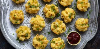 Mini mac 'n' cheese bites Easy Food
