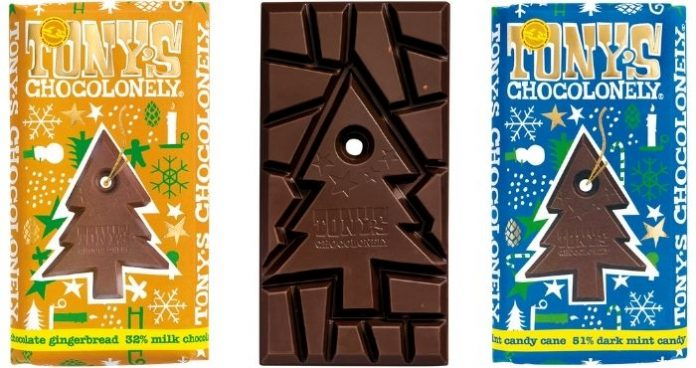 Tony's Chocolonely new festive flavours Christmas 2020 Easy Food