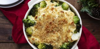 Winter vegetable gratins