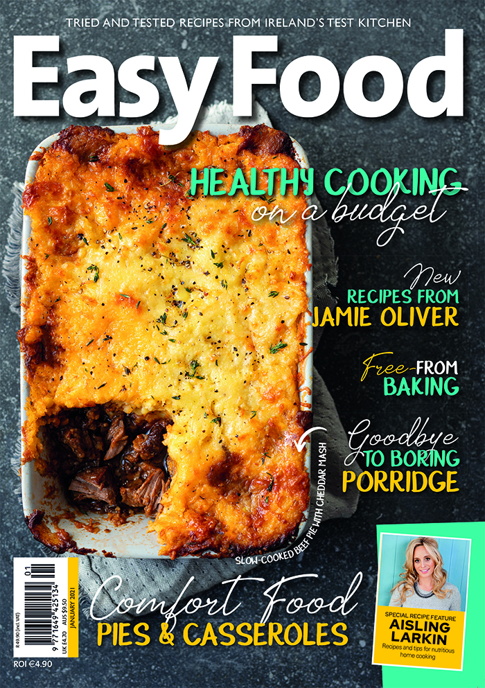 Issue 152 January 2021 Easy Food magazine front cover