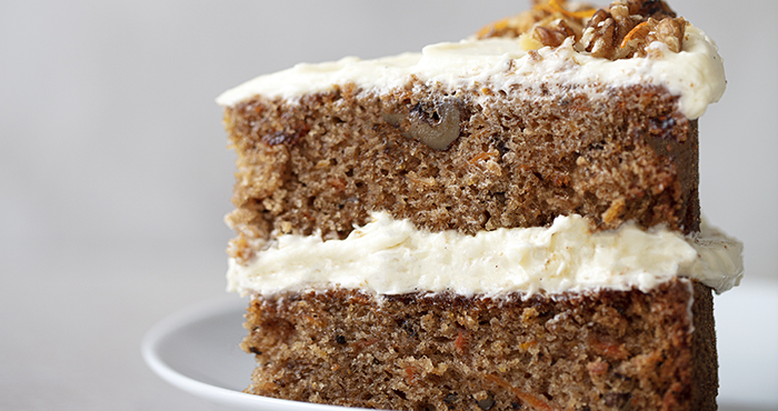 Issue 152 January 2021 Easy Food carrot cake