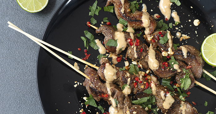 Issue 152 January 2021 Easy Food duck satay skewers