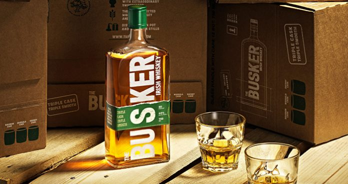 The Busker new Irish whiskey Easy Food