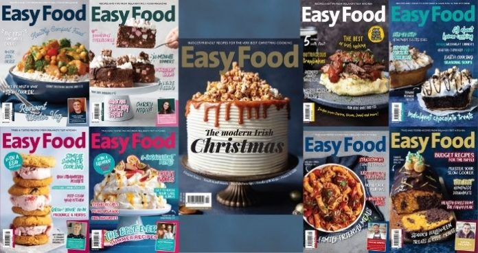 Cook the cover recipes from Easy Food 2020