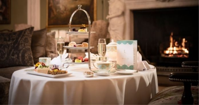 Be merry with this 'Part-tea' Christmas afternoon tea luttrellstown castle, easyfood, afternoon tea
