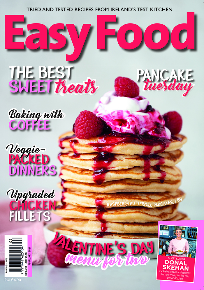 Easy Food magazine issue 153 February 2021 cover