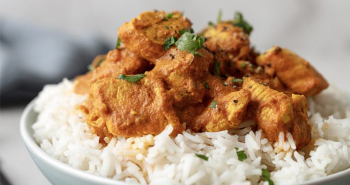 Spicy chicken curry Easy Food