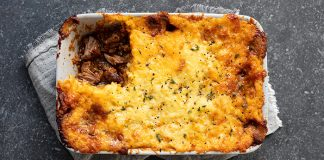 slow cooked beef pie with cheddar mash Easy Food