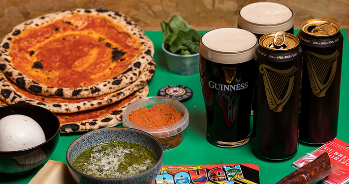 Guinness x The Dough Bros Six Nation pizza meal kit Easy Food