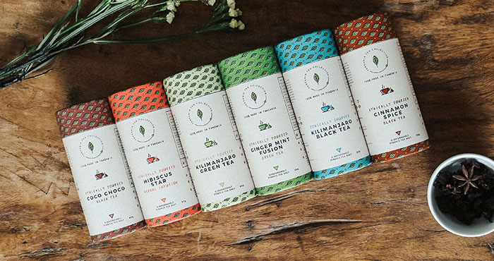 Kazi Yetu Tanzanian Tea Collection Proudly Made in Africa Easy Food